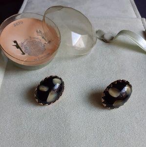 Vintage Emmons clip earrings